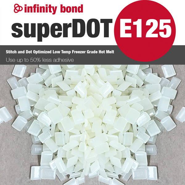 Infinity SuperDot 125 Stitch and Dot Optimized Freezer Grade Hot Melt