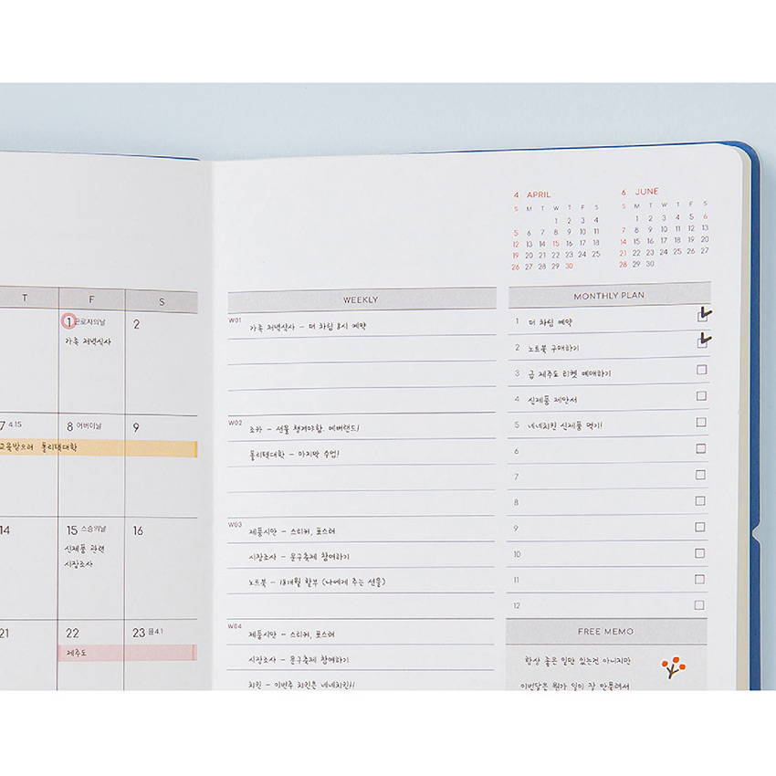 Monthly plan - Ardium 2020 My diary monthly dated planner