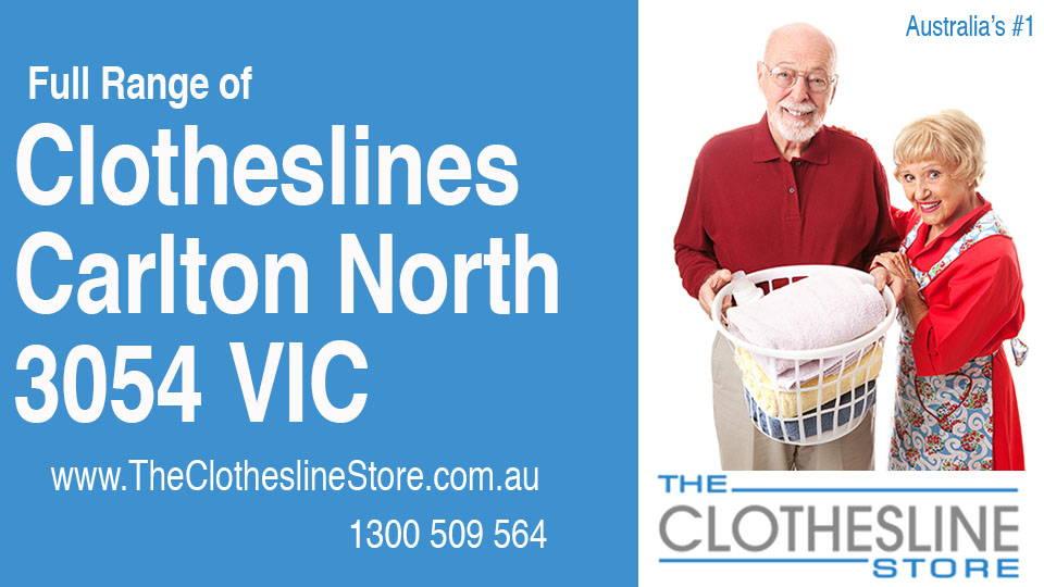 New Clotheslines in Carlton North Victoria 3054