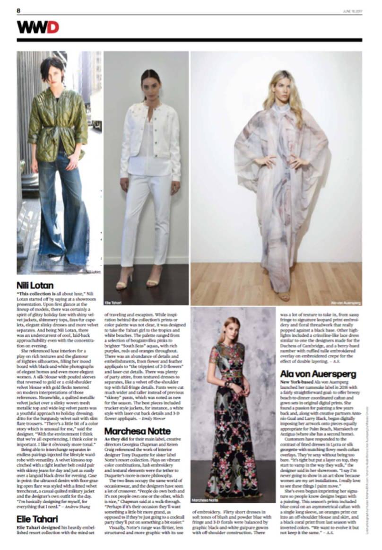 WWD June 2017 inside page 1