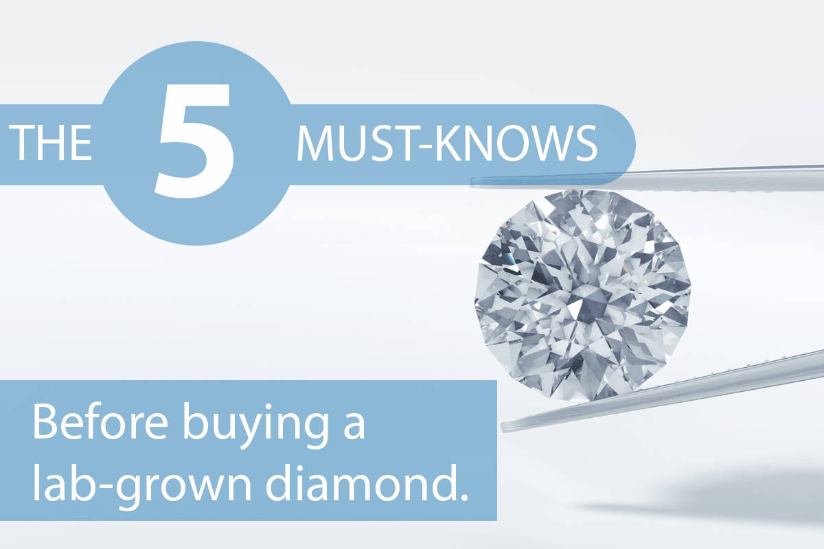 The Top 5 Must-Knows Before Buying a Lab-Grown Diamond  – Pure at Birth