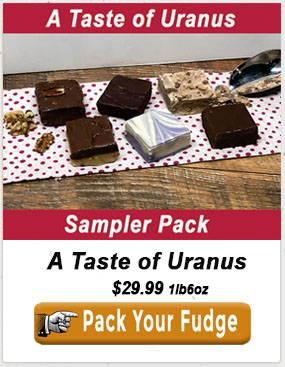 Uranus Fudge Factory Sampler pack