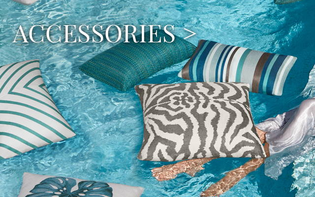 Outdoor Accessories: Outdoor Throw Pillows & Outdoor TVs