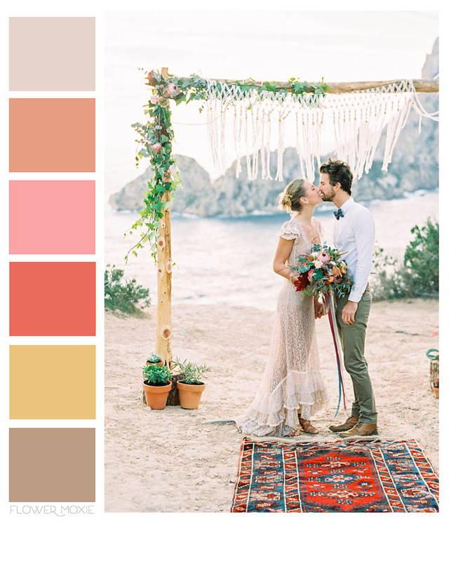 BoHo Wedding DIY Flower Package