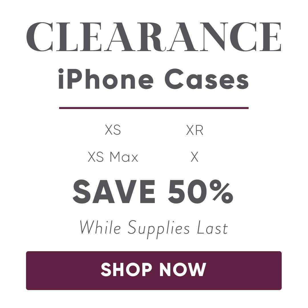 Apple Leather Case Clearance Sale