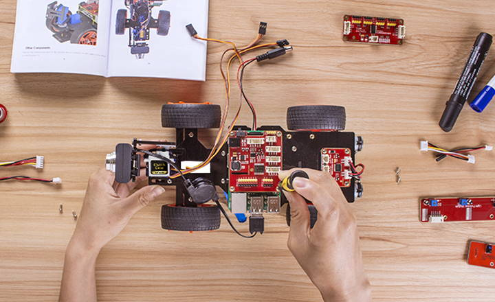 Smart Robotic Car Kit – RasPad | World's First Raspberry Pi