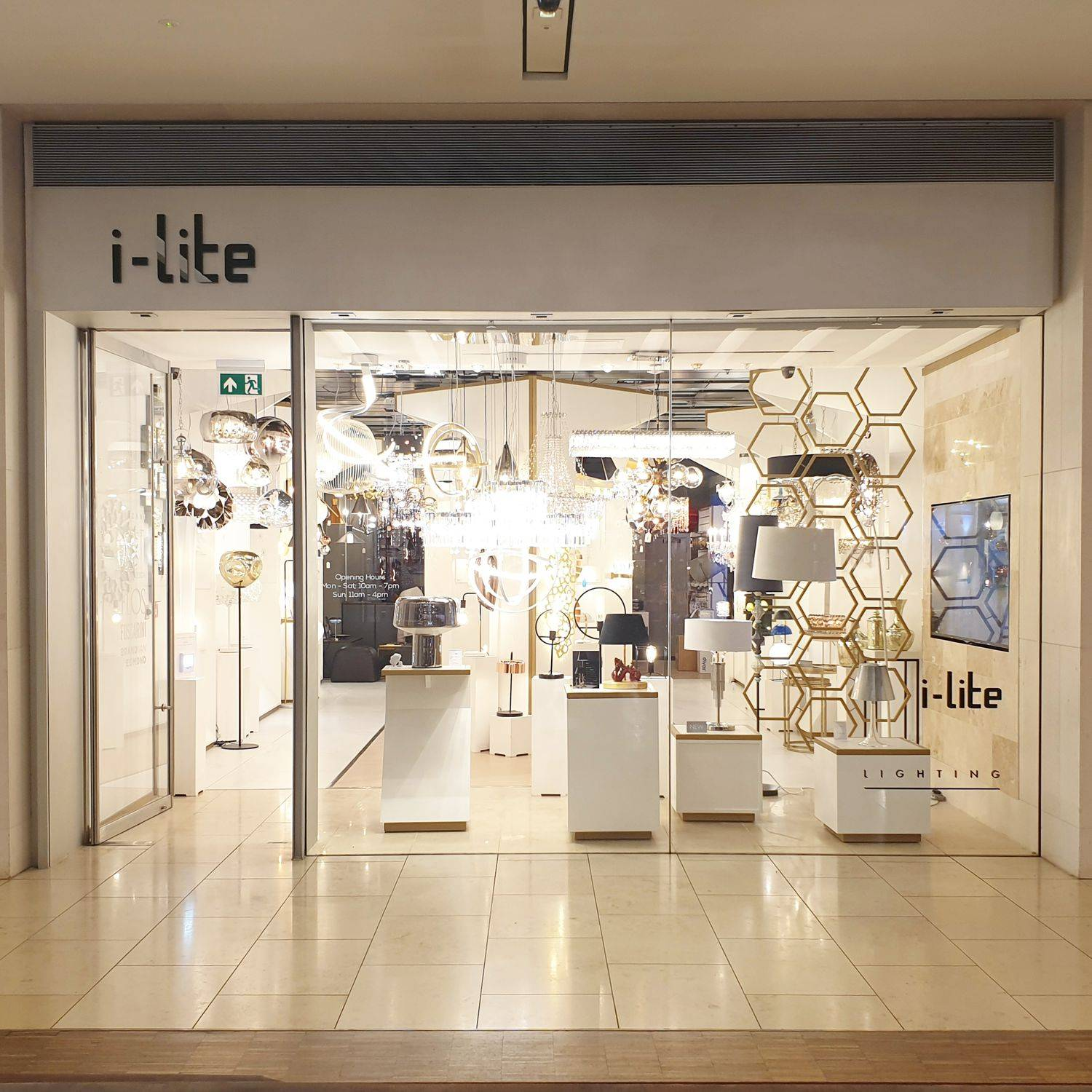 iLite Mailbox Lighting Showroom