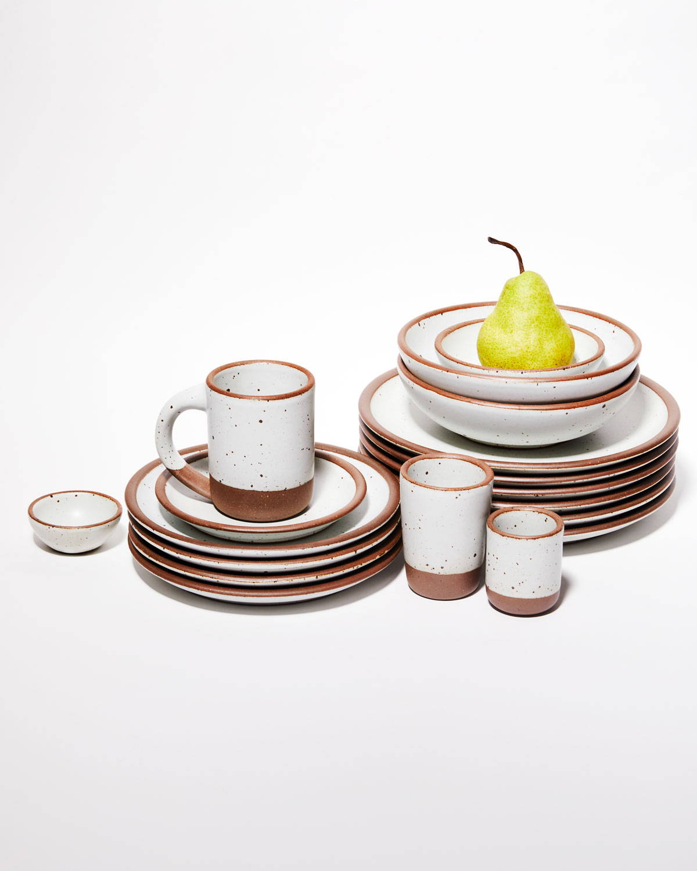 East Fork pots glazed in Eggshell