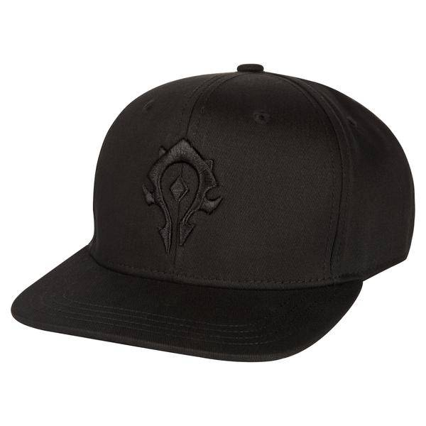 Product photo of the World of Warcraft Blackout Horde Snap Back Hat