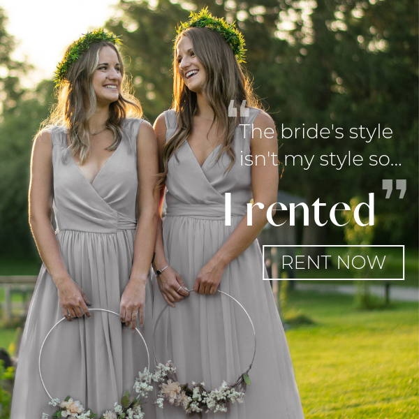 bridesmaid dresses online rent or buy