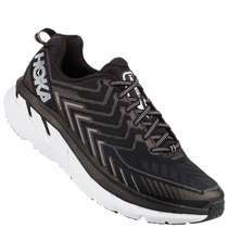 Hoka One One Clifton 4 Mens [ Black - White ] M1016723-BWHT