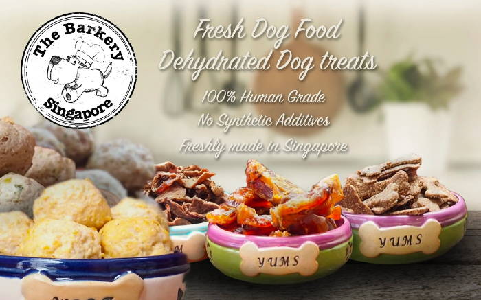 The Barkery Singapore Fresh Dog Food & Treats - Pawpy Kisses Singapore