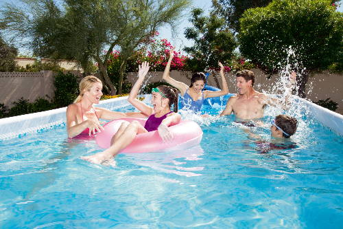 lösningar till vattenproblem i poolen