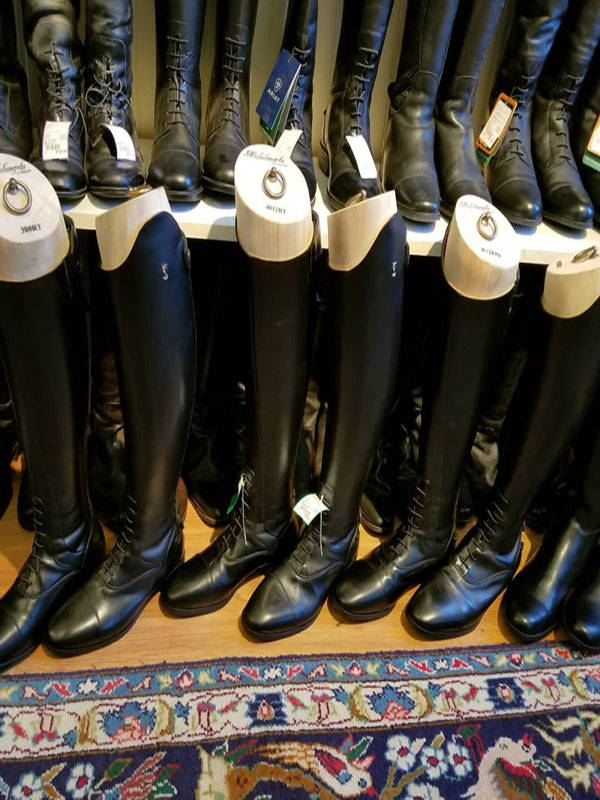 consignment riding boots