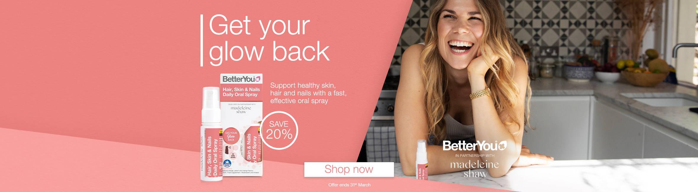 Hair skin & nails oral spray