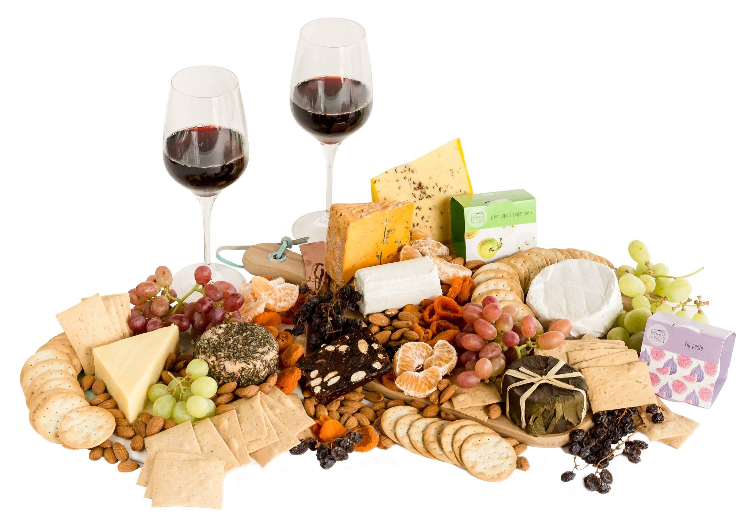 Australian Cheese and Wine Platter