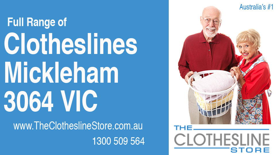 New Clotheslines in Mickleham Victoria 3064