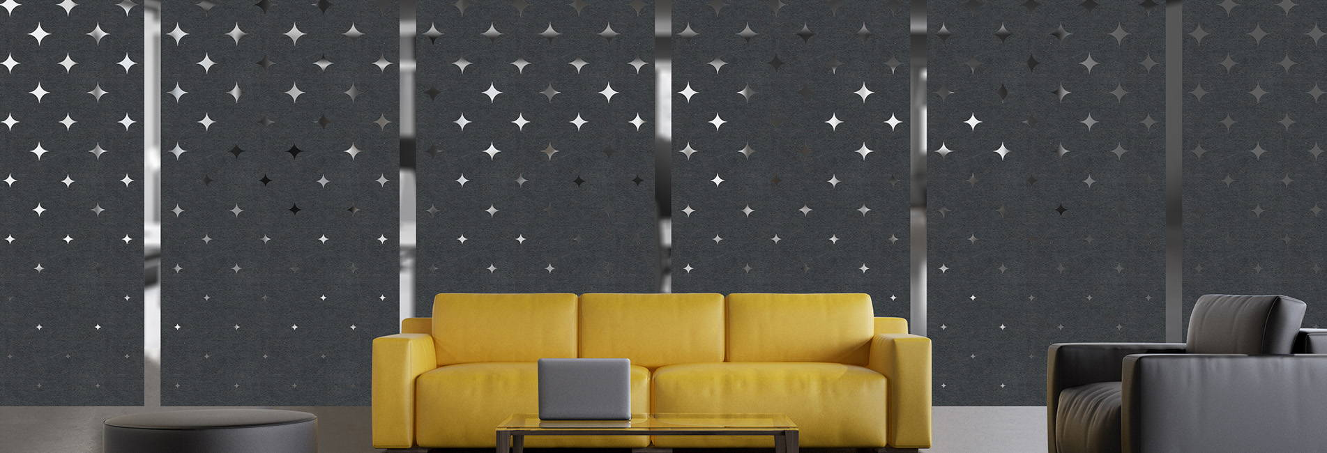 Starry panels hero image