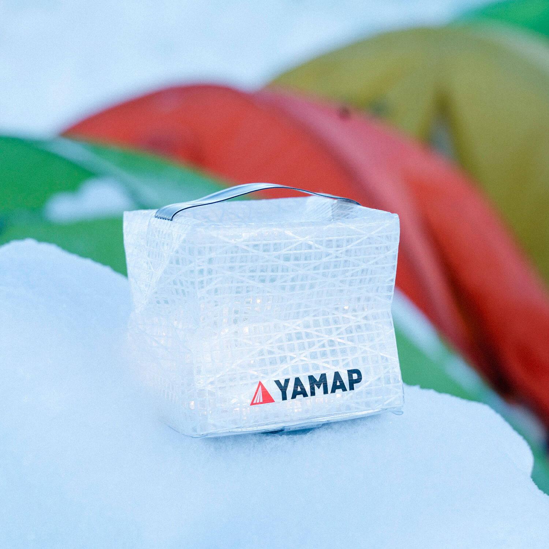 YAMAPのロゴが入った「キャリー・ザ・サン」登場