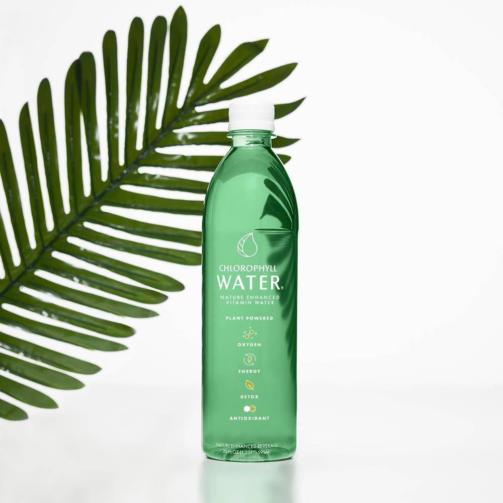 Chlorophyll water bottle