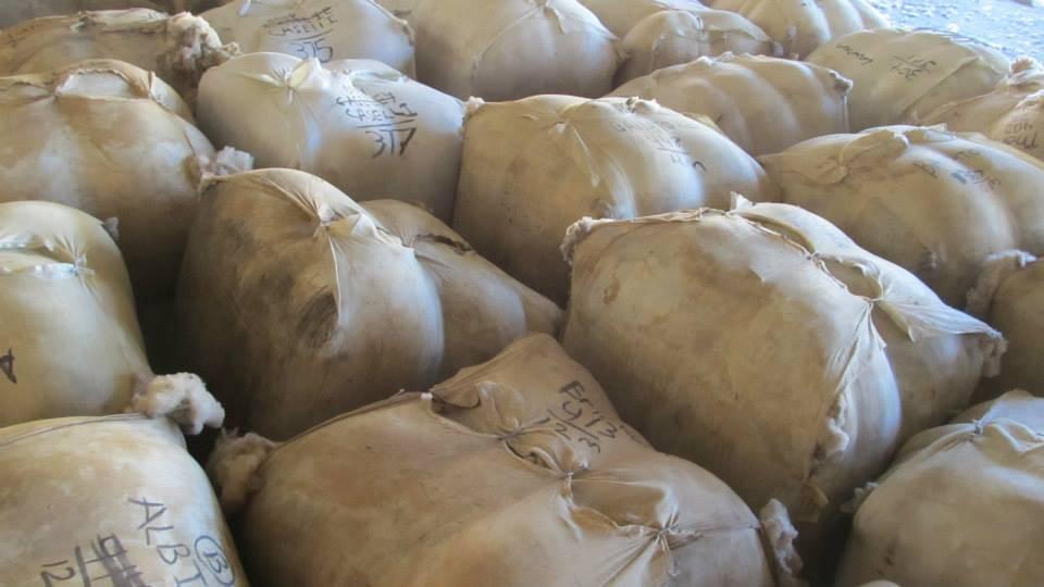 Sonoma Wool Company Wool Bales
