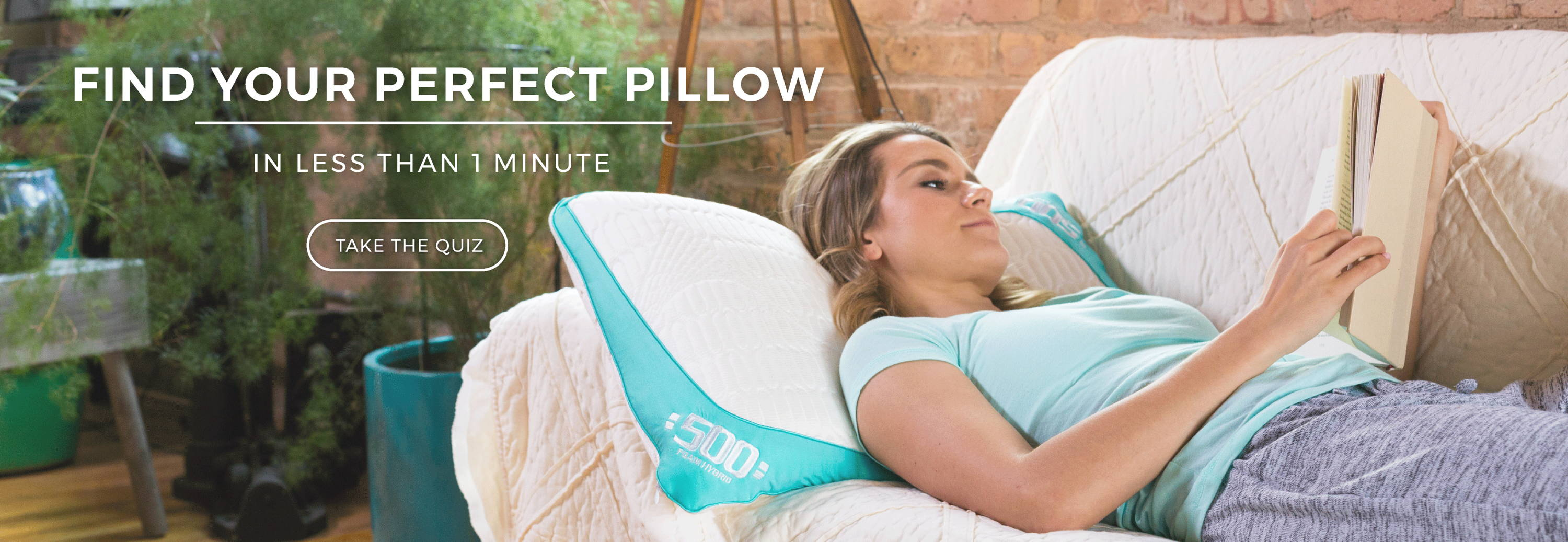 find your perfect pillow