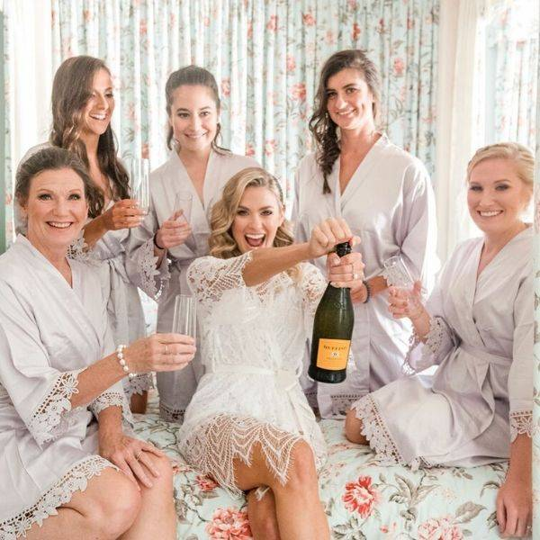 robes for bridesmaids cheap