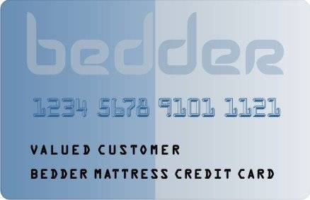 Bedder Credit Card