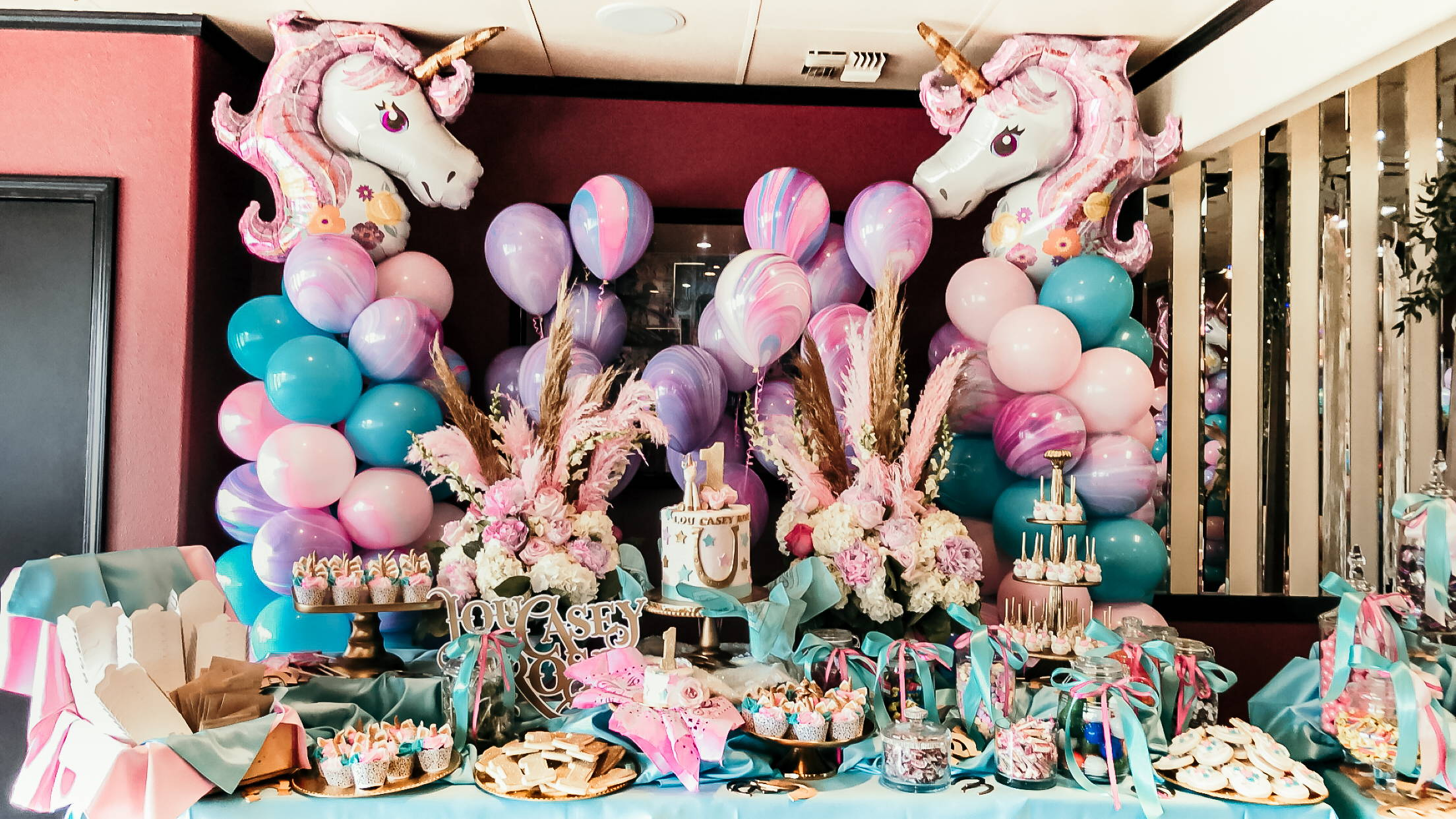 Unicorn Sip See Welcome Home Shower RSVP Style