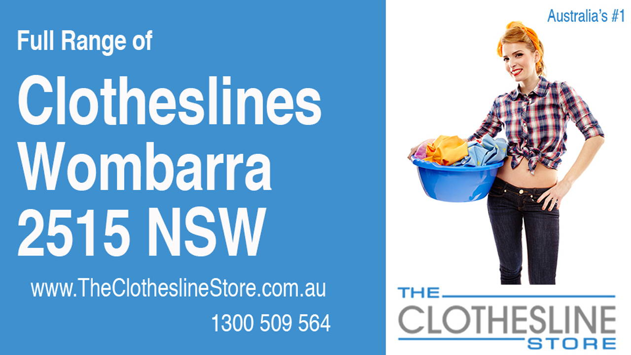New Clotheslines in Wombarra 2515 NSW