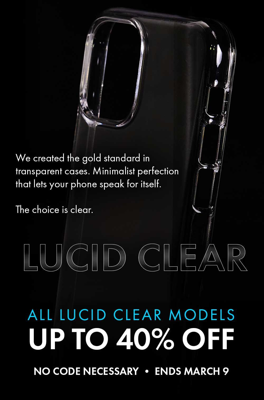 Lucid Clear | Crystal Clear iPhone 11 Case