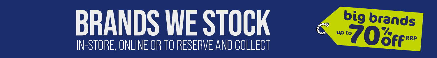 Brands We Stock - in-store, online or to reserve and collect