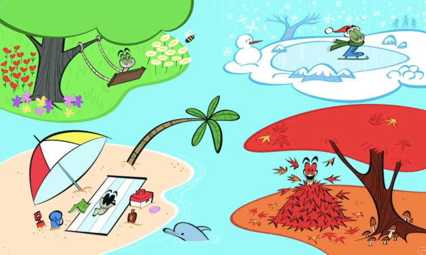 illustrated seasons