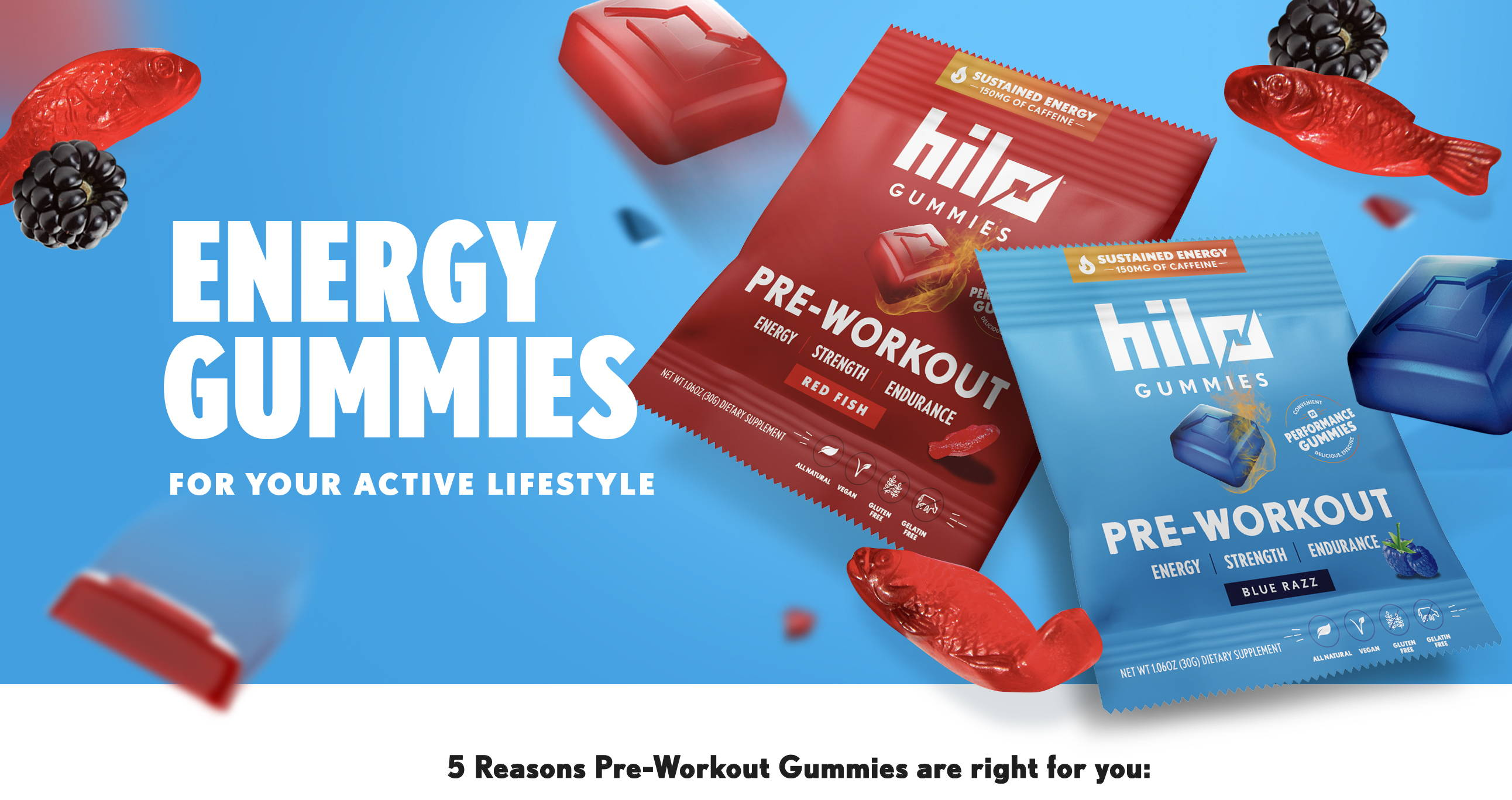Energy Gummies for Your Active Lifestyle