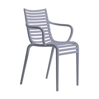 Modern Purple Outdoor Dining Chairs