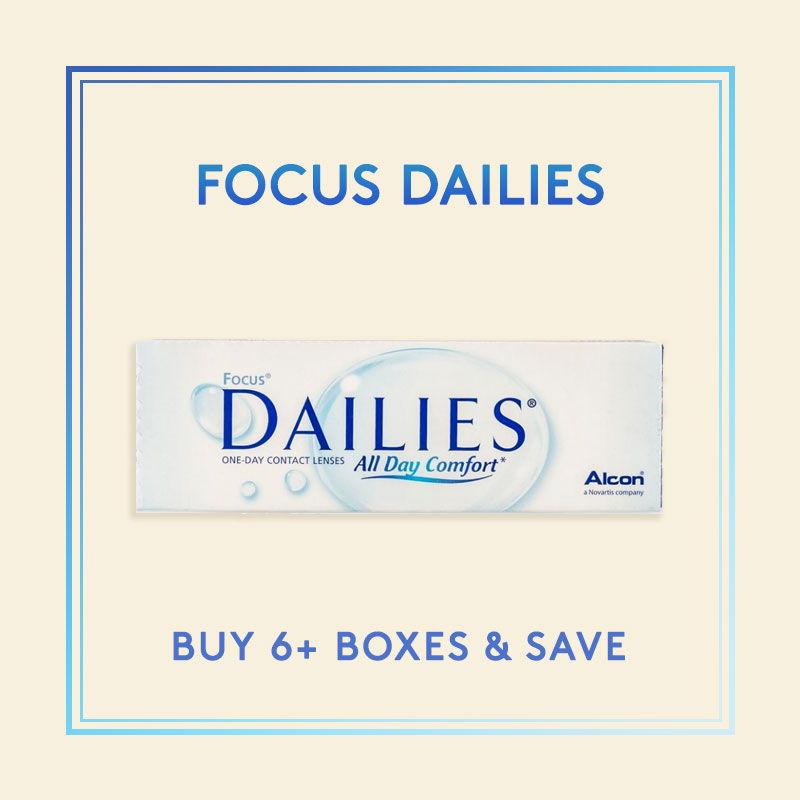 Focus Dailies Contact Lenses