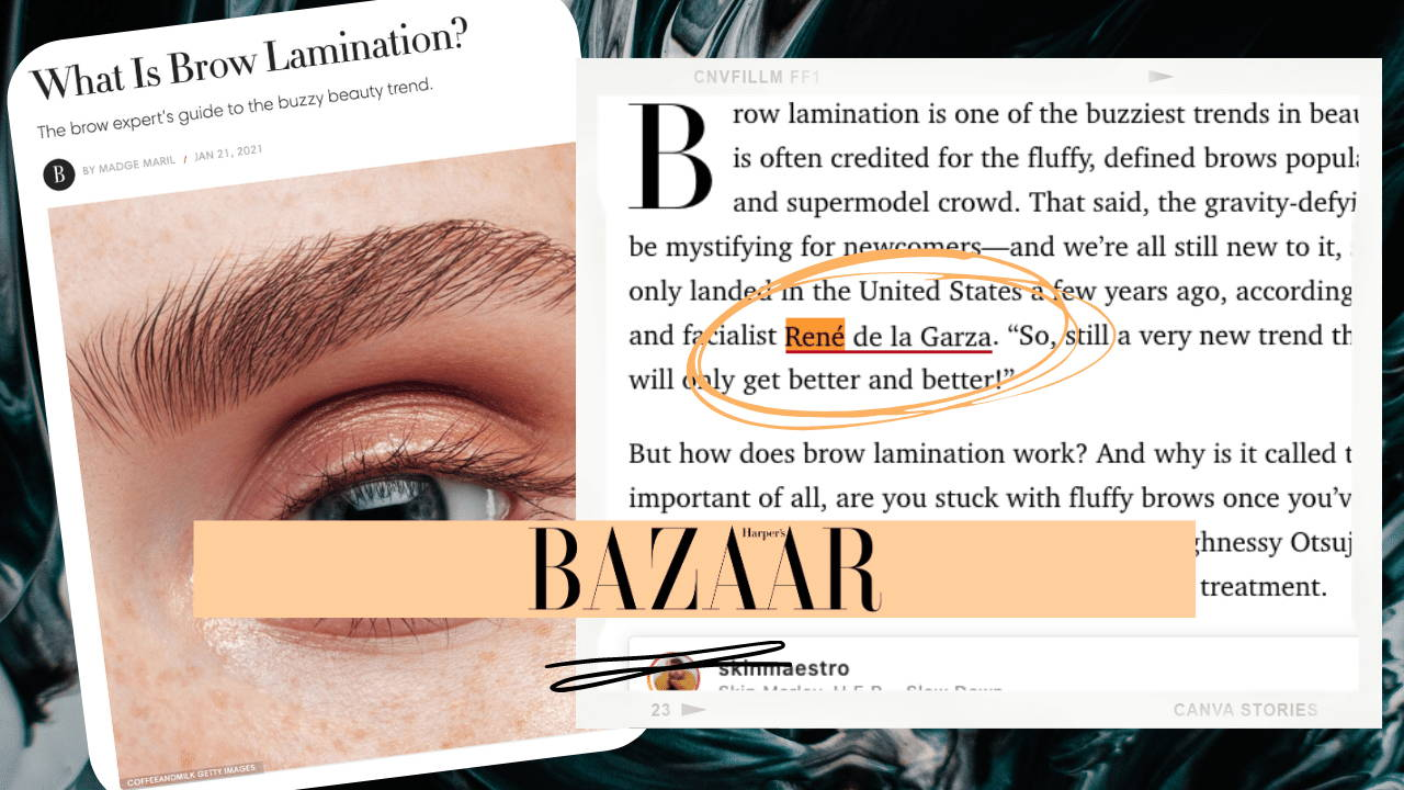 WHAT IS BROW LAMINATION: THE BROW EXPERT'S GUIDE TO THE BUZZY BEAUTY TREND