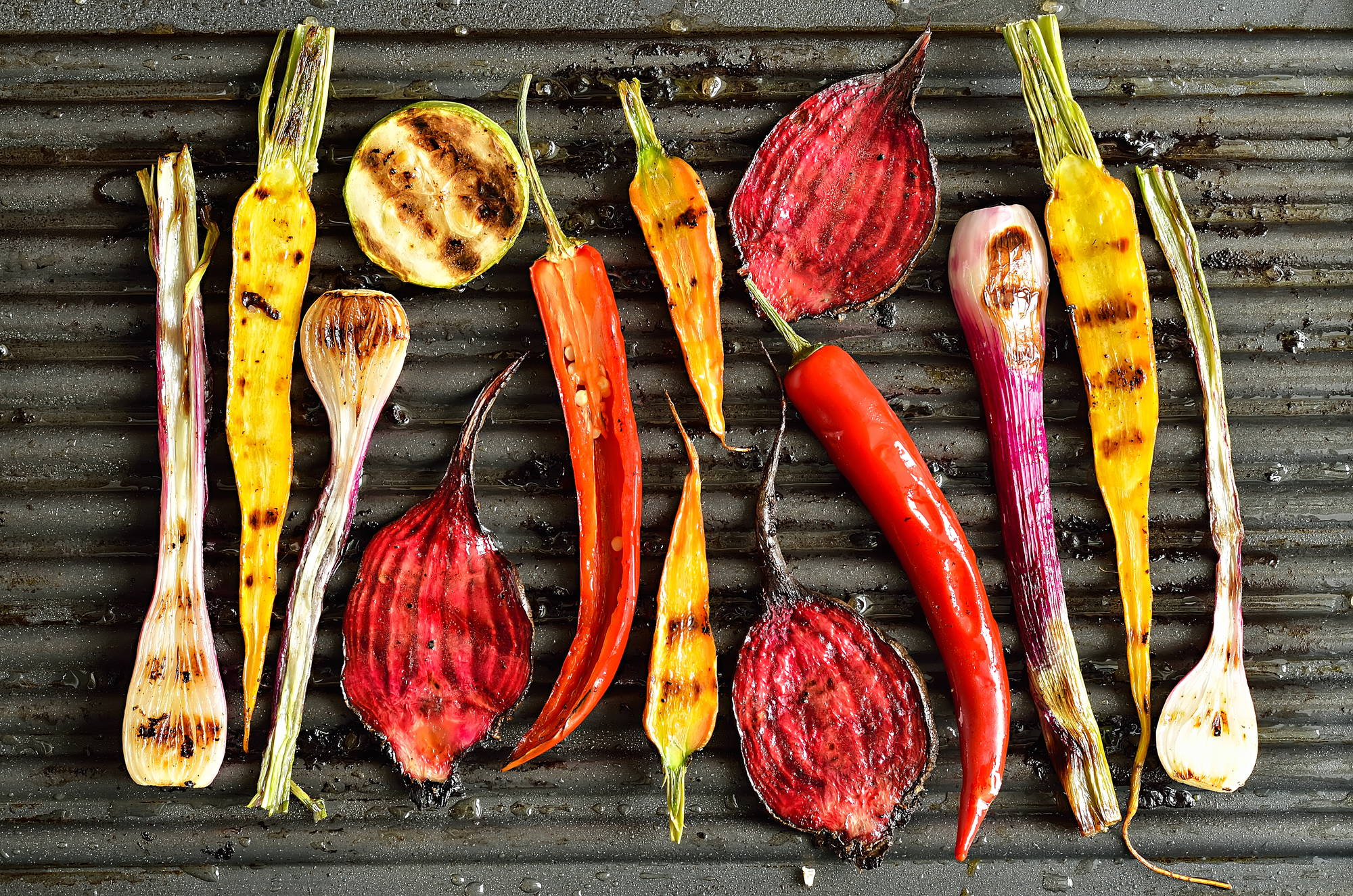 High Quality Organics Express Grilled Vegetables