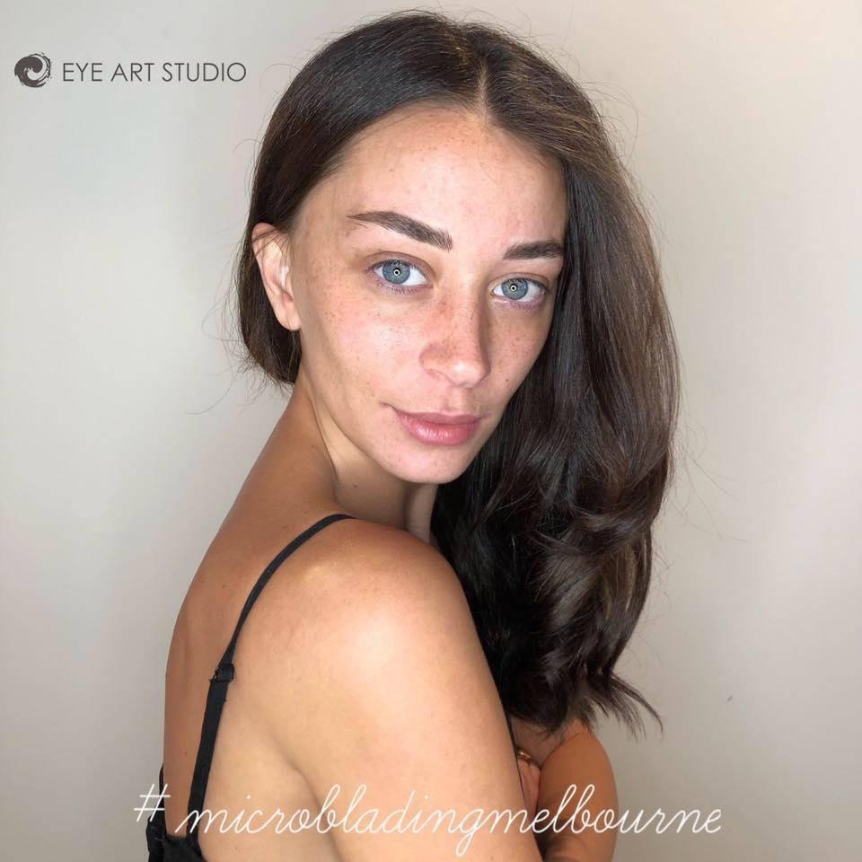 Eyebrow Microblading Eyebrow Feathering