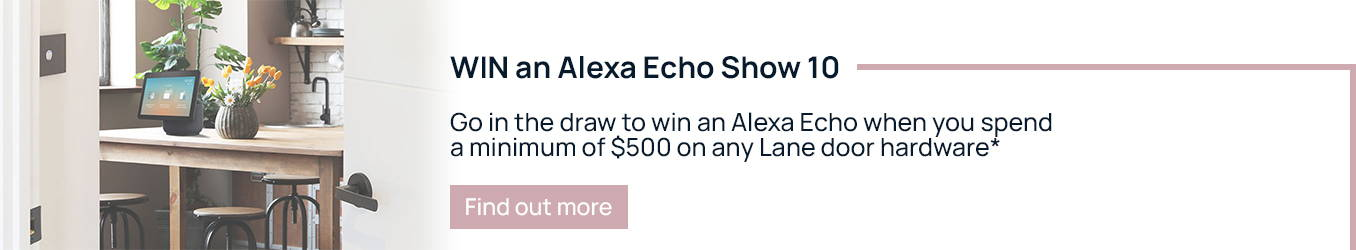 Lane x Alexa Promotion Banner | The Blue Space