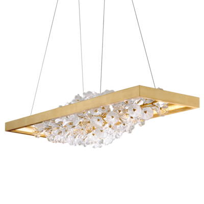 Linear Sus[pension Chandeliers  - Corbett Designer Crystal Lighting
