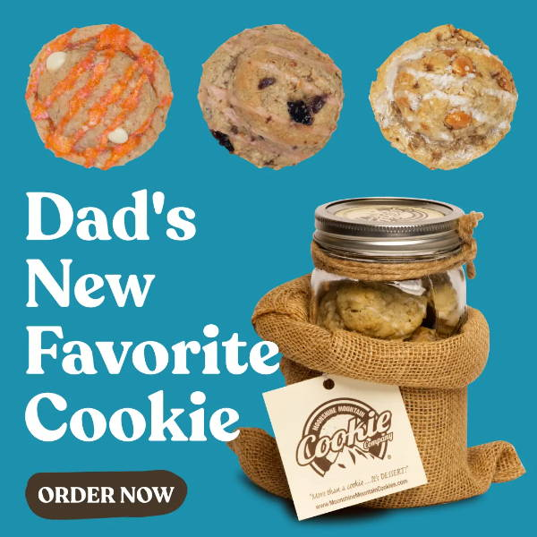 Moonshine Mountain Cookies Father's Day Cookie Gifts