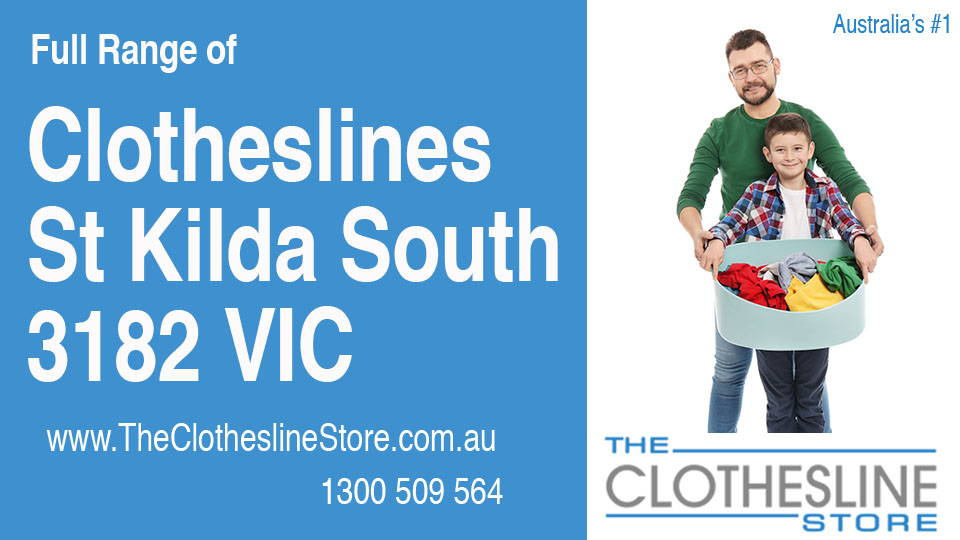 New Clotheslines in St Kilda South Victoria 3182