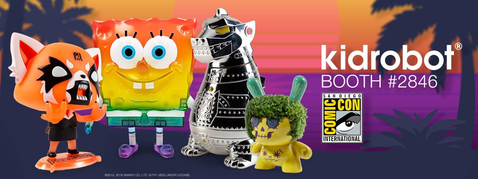 SDCC Pre-Sale 2019– Kidrobot