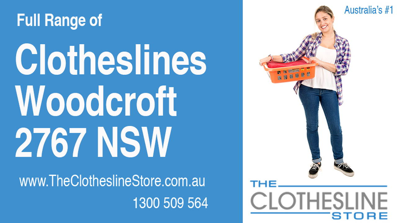 New Clotheslines in Woodcroft 2767 NSW