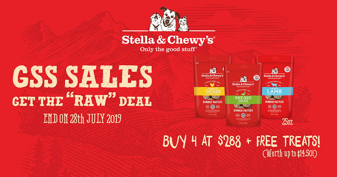Stella and Chewy's promotion banner 4
