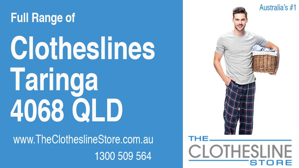 New Clotheslines in Taringa Queensland 4068