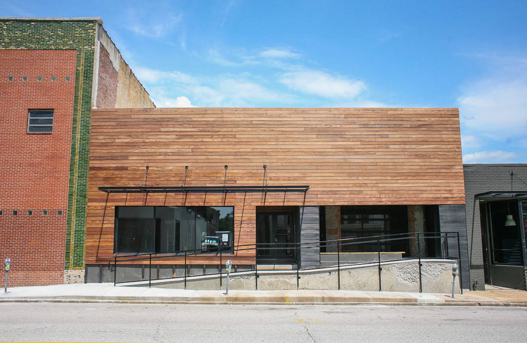 front of mpwr stl, women's only co-working space  in stl
