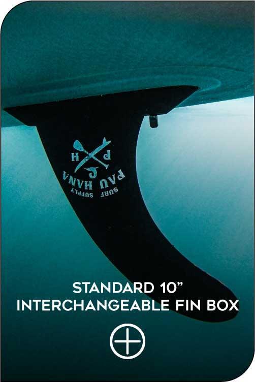 PAU HANA STAND UP PADDLE BOARD STANDARD FIN BOX FEATURE
