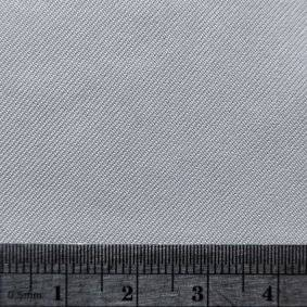 Silk Twill Fabric Blank Square Image with ruler for scale